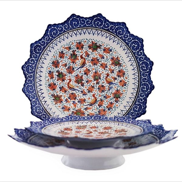 Persian Enamel (Minakari) Decorative Plate Copper