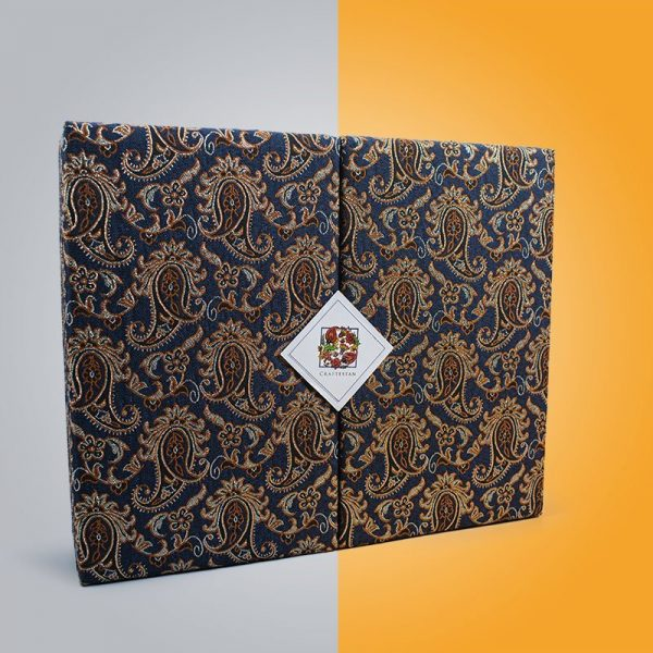 Craftestan Gift Box Is Decorative With The Iconic Persian Paisley Pattern
