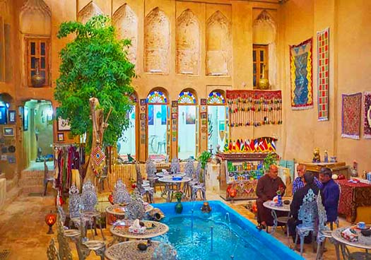 Cultural Heritage Persian Architecture In Yazd City