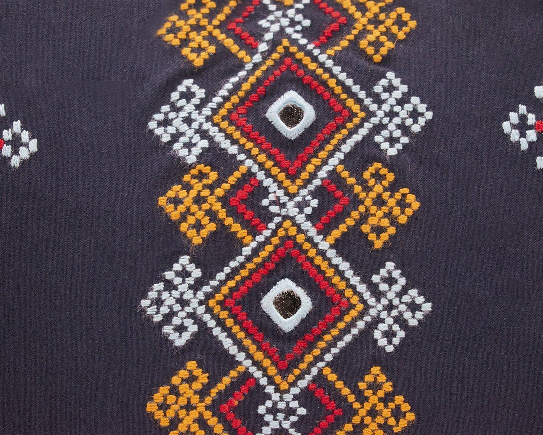 Persian Balochi Embroidery Mirror-Work Geometric Pattern Ladies Crossbody Bag