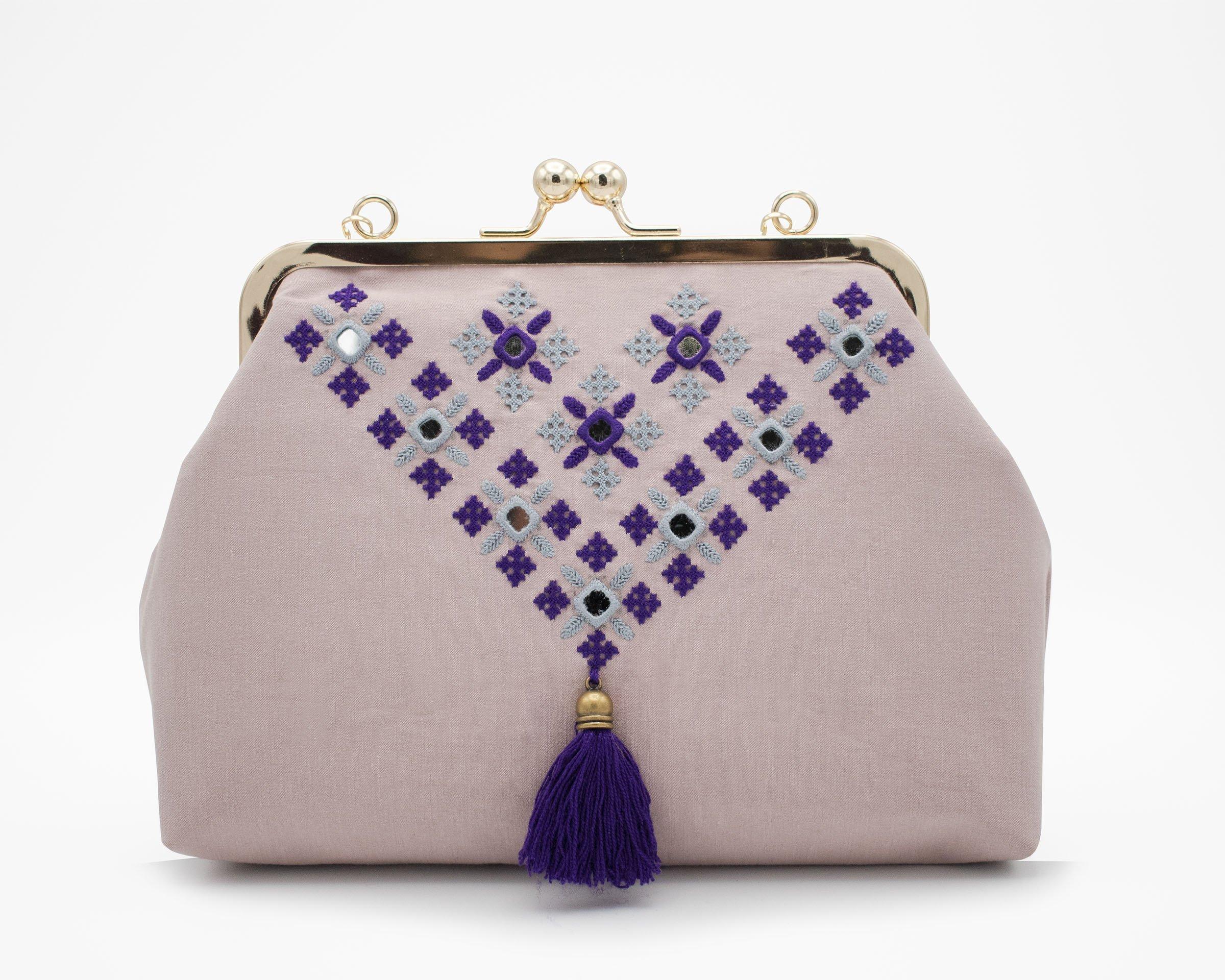 Persian Balochi Embroidery Ladies Crossbody Bag