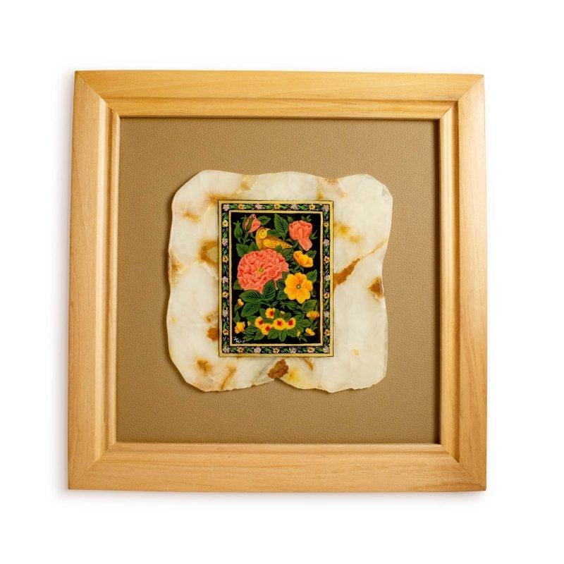Persian Miniature Painting - Nightingale In Garden