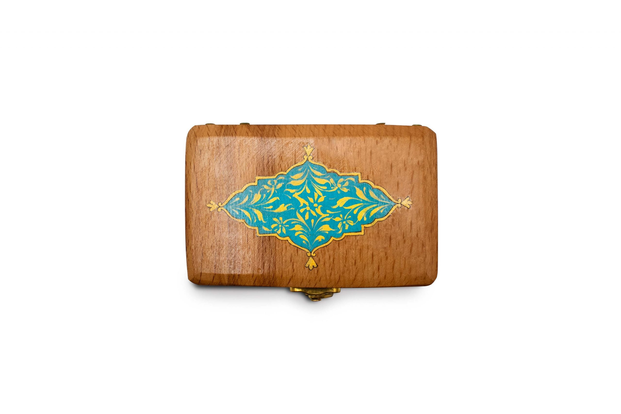 Wooden Jewellery Box Watercolour Painting